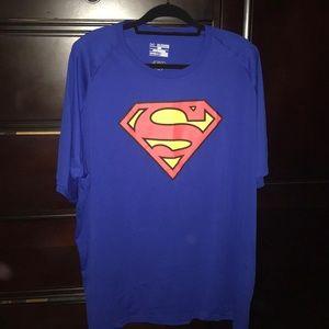 Under Armour Superman T-Shirt.3XL XXXL